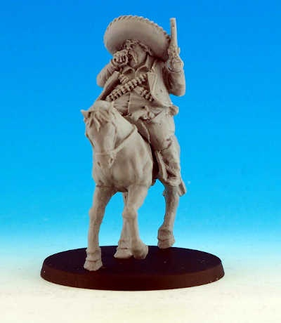 Mexican Leader Mounted