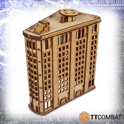 Level Steel Building