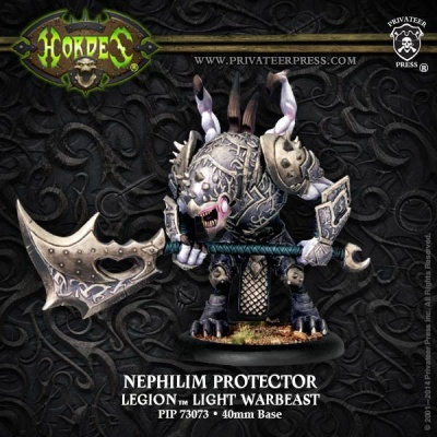 Nephilim Protector - Legion Light Warbeast (plastic)