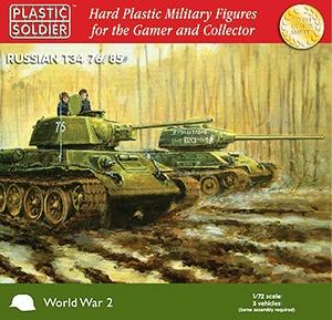 1/72: T34 76/85 Tank (3)