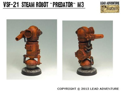"Steam Robot ""Predator"" M3 (1)"