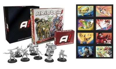 Aristeia! Core Collector's Limited Edition DEUTSCH