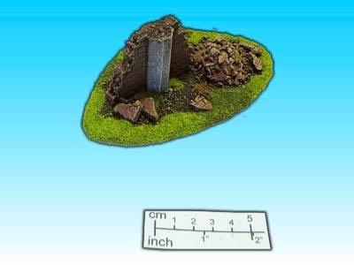 Geländestück kleine Ruine I