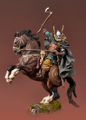 Viking on Horseback, 850 A.D.