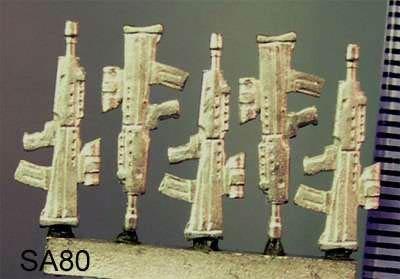 SA80 assault rifle (5)