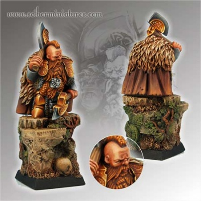 28mm/30mm Dwarf Champion