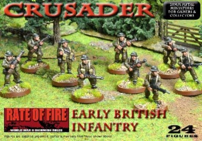Crusader WWII: Early British Infantry Box Set