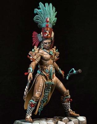 Maya Warrior 600-900 A.D.