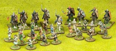 SAGA Starter Army - Norman 4pt Warband