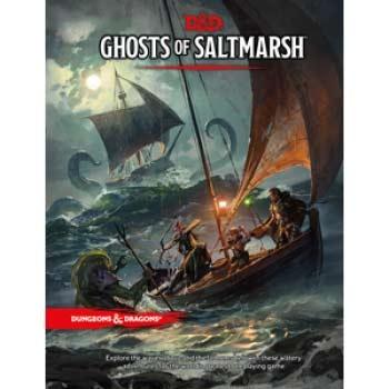 Dungeons & Dragons Ghosts of Saltmarsh (HARDCOVER)