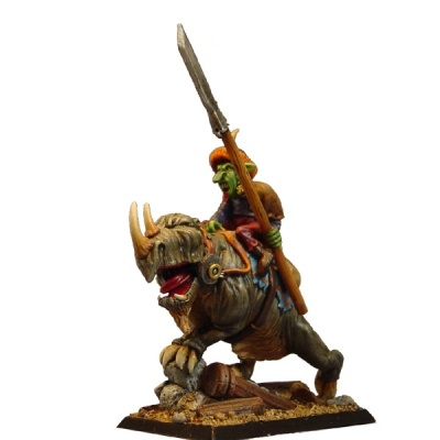 Goblin auf Rhinosaurus