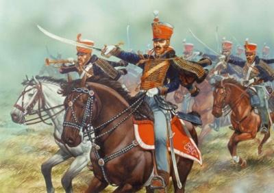 Napoleonic British Hussars (14)