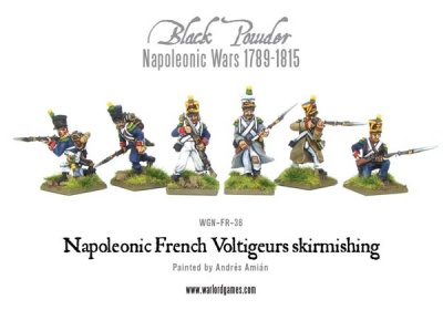 Napoleonic French Voltigeurs skirmishing (6)