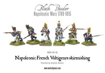 Napoleonic French Voltigeurs skirmishing (6)