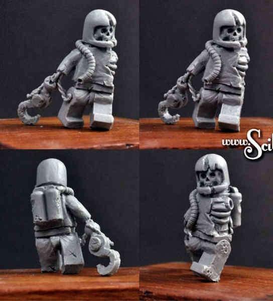 Astronaut Zombie #2