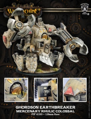 Mercenary Ghordson Earthbreaker Colossal Box (plastic)