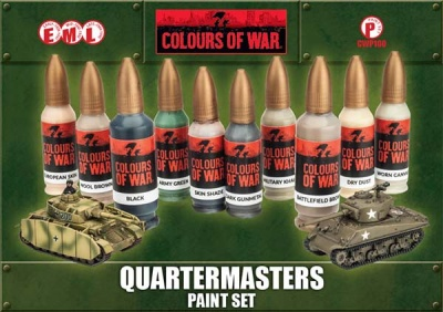 Quartermaster's Paint Set (10)