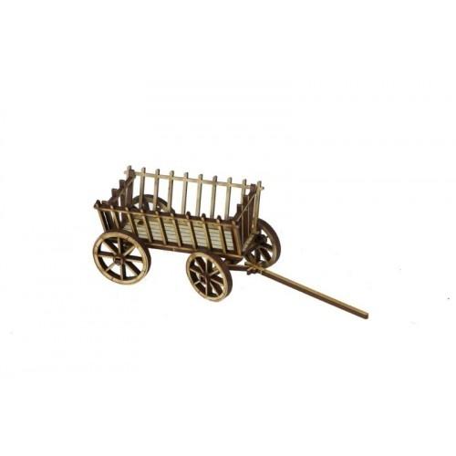 Russian Village - Hay Cart