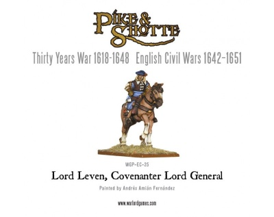 Lord Leven, Covenanter Lord General