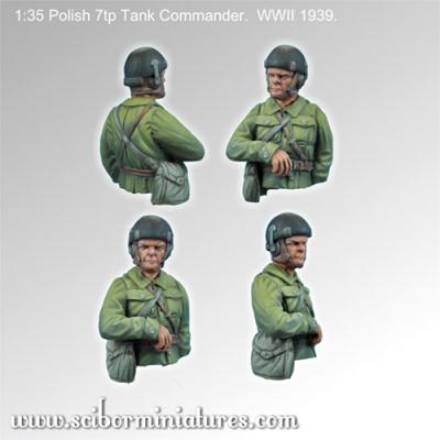 1:35 Polish 7tp Tank Commander #1 (1)
