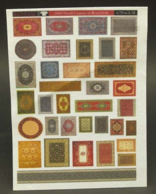 Small Carpets on Real Cloth