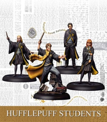Harry Potter Miniature Game: Hufflepuff Students