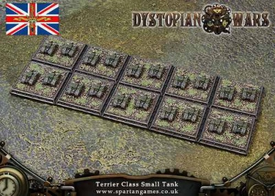 Kingdom Of Britannia Terrier Class Small Tank (20) (OOP)