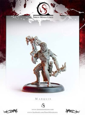 Marquis - Assassin RESIN