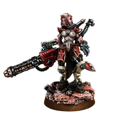 Mechanic Adept Eradicator w Gravi-Cannon