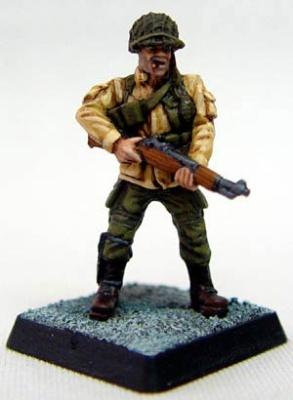 Hank Thorton WWII Reinactor