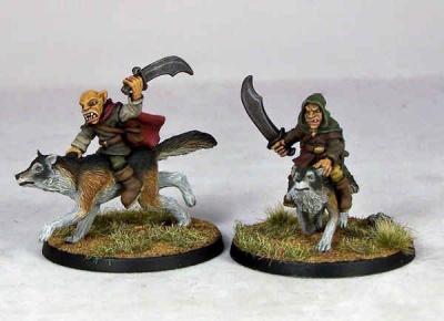 Goblin Wolfriders IV (2)