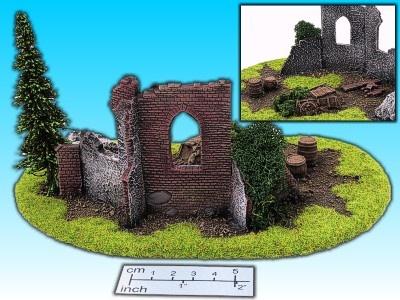 Geländestück Turmruine
