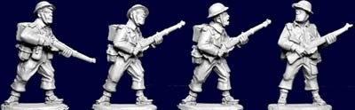 British and Commonwealth Riflemen I (4)