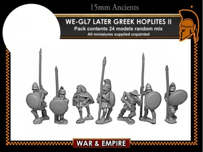 Later Greek, Assorted Later Hoplites (24)