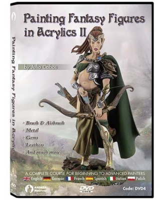 Painting Fantasy Figures in Acrylics II DVD