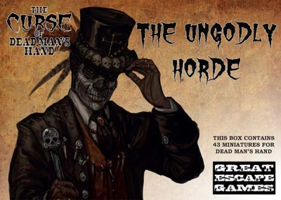 "The Curse of Dead Man's Hand ""The Ungodly Horde"" - Limited"