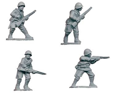Russian Riflemen I (4)