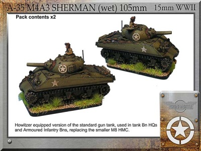 M4A3 Sherman (wet) 105mm (2)