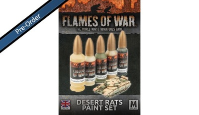 Desert Rats Paint Set (5)