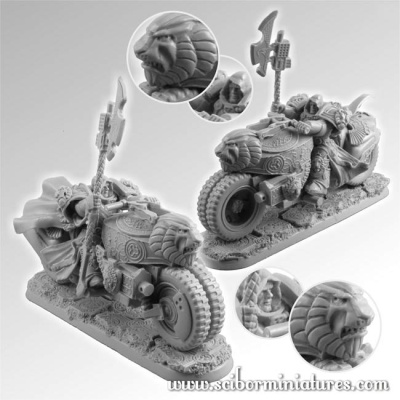 28mm SF Lion Knight Motorcycle