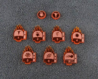 Pyromantie Psi-Marker