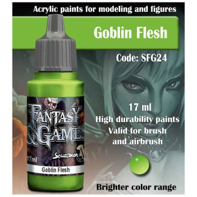 Scalecolor Fantasy 24 Goblin Flesh (17ml)