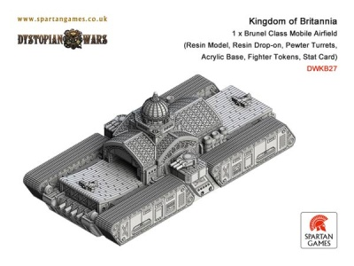 Kingdom Of Britannia Brunel Class Mobile Airfield (1) (OOP)