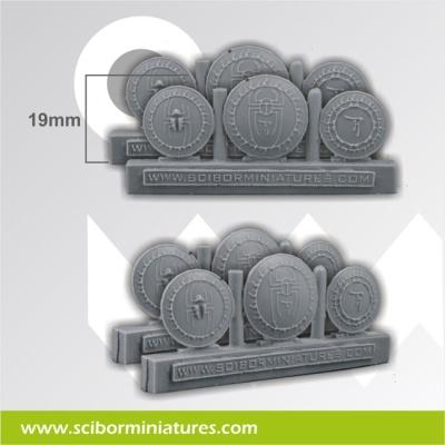 Egyptian Shields