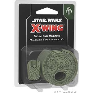 Star Wars: X-Wing 2.Ed. Scum and Villainy Maneuver Dial Up.