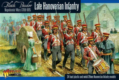 Napoleonic Hanoverian Line Infantry Regiment plastic box (24