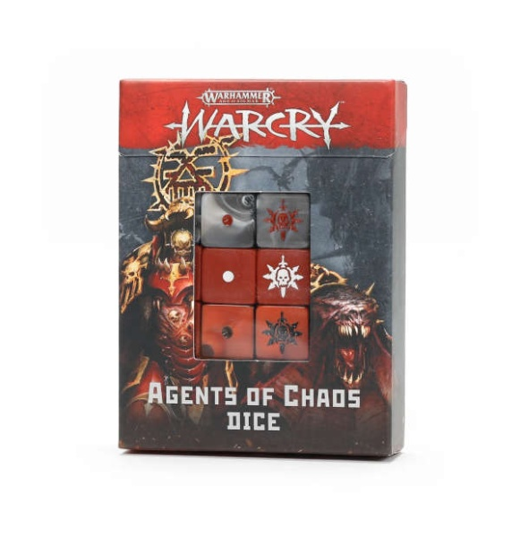 Warcry: Agents of Chaos Würfelset