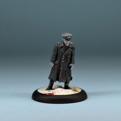 WWII German Zombie Officer