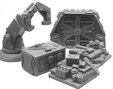 Sci Fi Cargo Bay