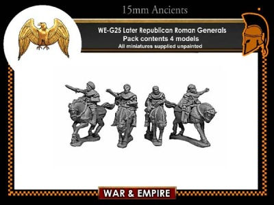 Later Republic Roman Generals